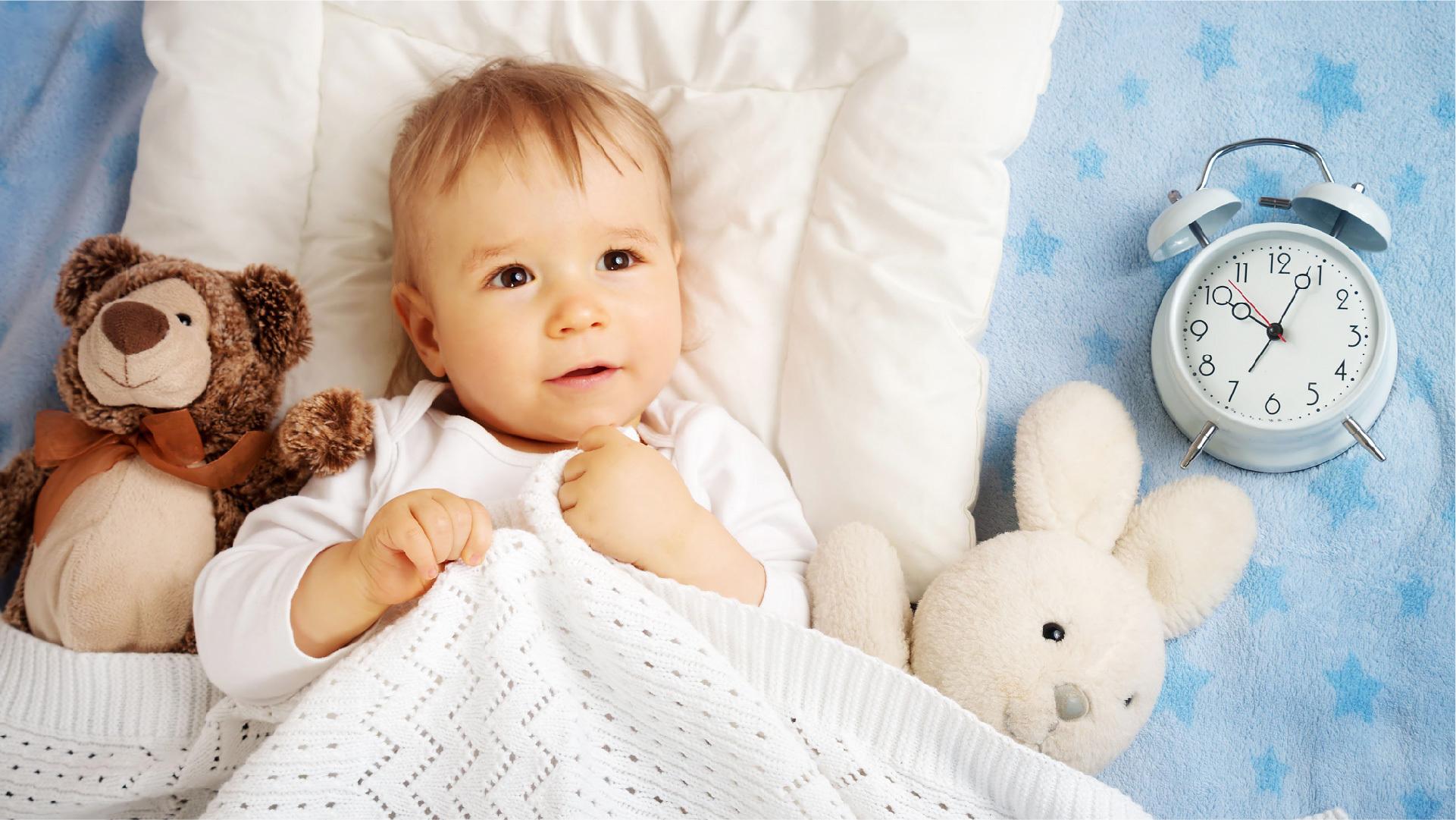 Ritmul circadian la bebelusi: care sunt orele de somn recomandate